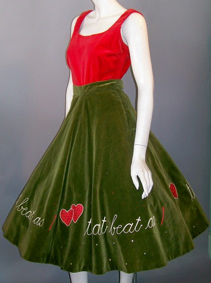 dorothea's closet vintage 50's dress vintage 50s dress vintage 1950s vintage 1950's vintage circle skirt vintage wiggle dress vintage hawaiian dress vintage skirt vintage poodle skirt :  fashion vintage 50s swimsuit vintage bathing suit