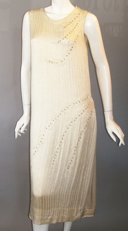 20s dress beaded flapper dress
