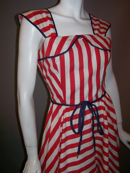 WWII era pin up dress