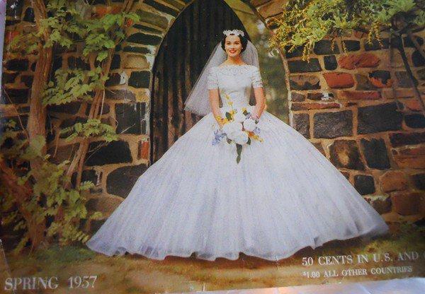 50s wedding dress vintage wedding gown
