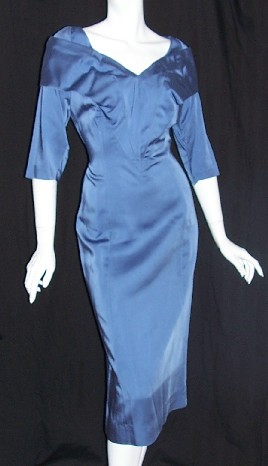 40s Vintage Designer Dress LILLI ANN