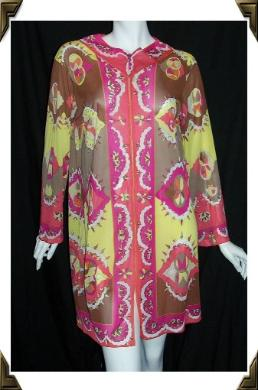 Vintage 60s PUCCI for FORMFIT ROGERS Tunic Dress