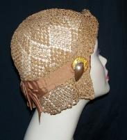 Vintage cloche with deco details