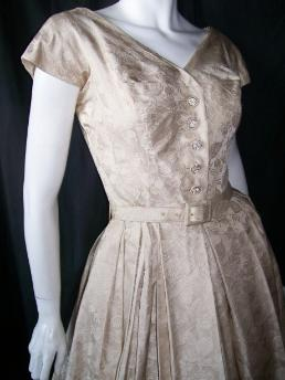 50s dress designer MOLLIE PARNIS