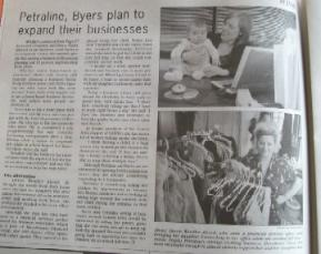 dorothea's closet vintage in business record