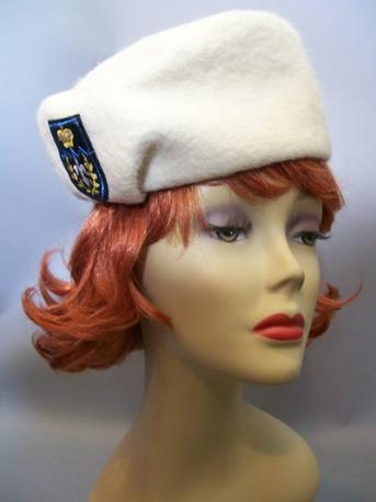 vintage hat  50s hat military