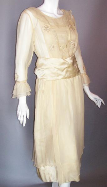 edwardian wedding dress