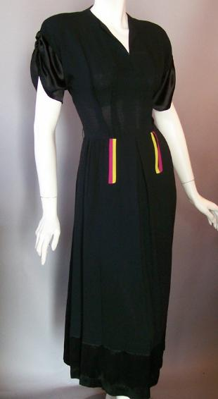 1940s dress vintage dress vintage clothing