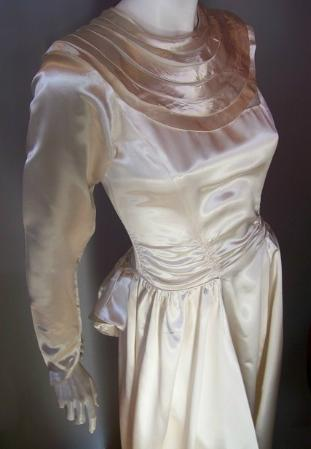 30s wedding gown 40s wedding gown