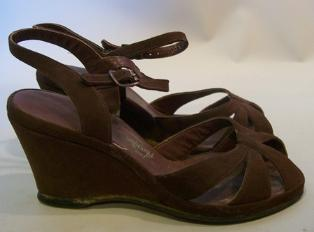 40s wedge heel shoe