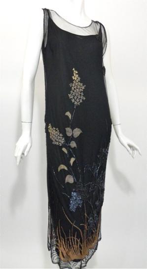 1920s Dress Vintage Fler