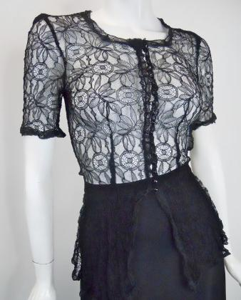 30s blouse vintage clothing