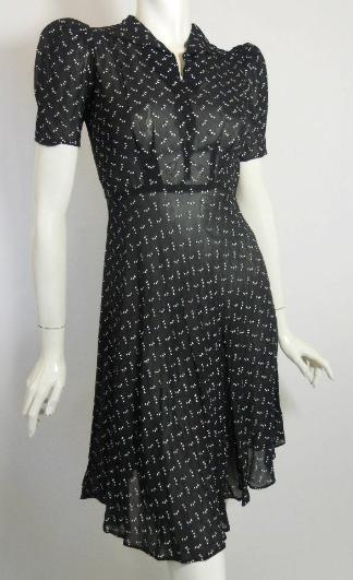 30s dress vintage dress vintage clothing