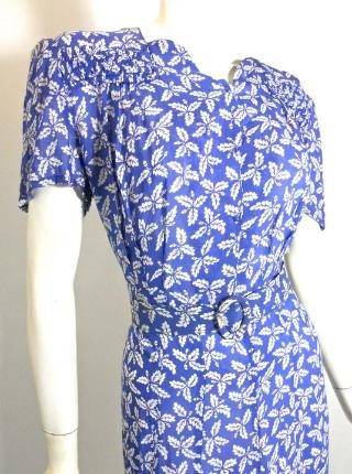 vintage button down with large collar