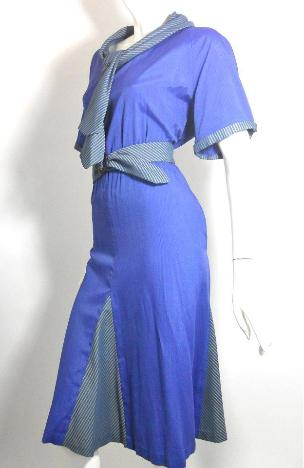 1930s dress vintage clothing