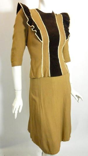 30s suit vintage clothing