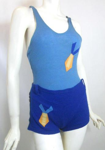 Dorothea's Closet Vintage swimsuit, 30s swimsuit, 30s bathing suit