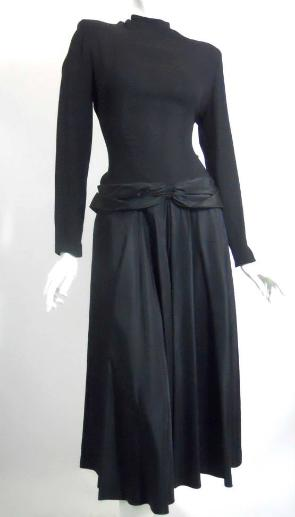 Dorothea's Closet Vintage Dress 40s Dress Vintage Clothing 40s Gown