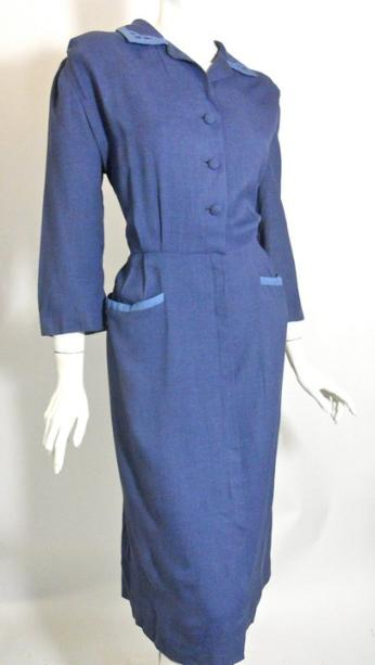 1940s dress vintage clothing