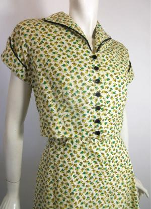 Dorothea&39s Closet Vintage Dress 40s Dress Vintage Clothing 40s Gown
