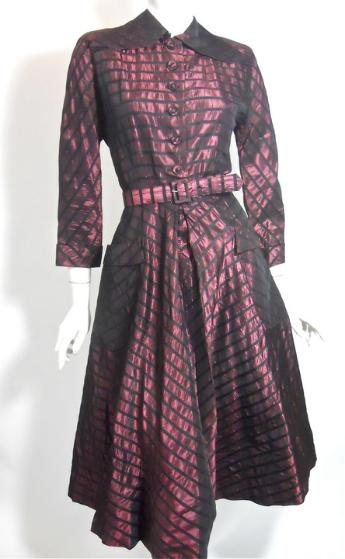 40s dress new look dress vintage clothing