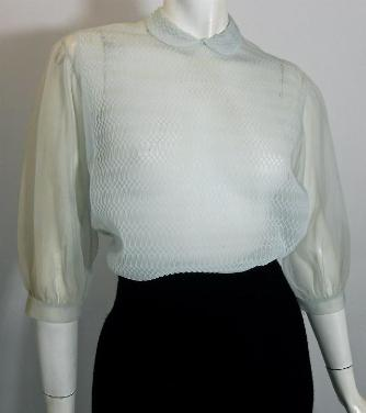 50s blouse vintage clothing