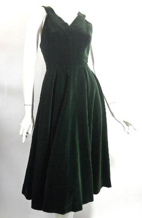 anne fogarty dress velvet dress