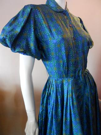 50s dress vintage dress jonathan  logan