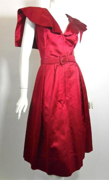 50s dress vintage dress larry aldrich