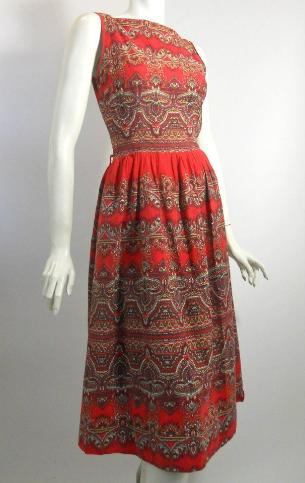 50s dress vintage dress vintage clothing