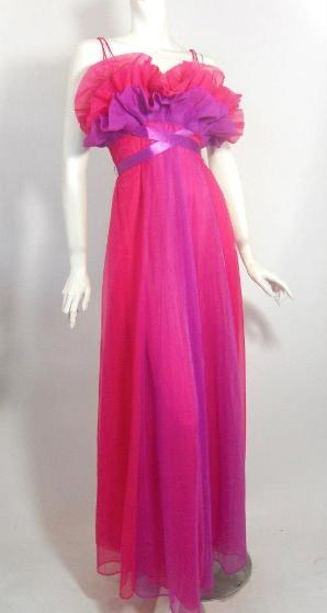 vanity fair nightgown 50s lingerie