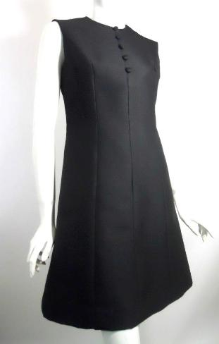 Dorothea's Closet Vintage dress, 60s dress, little black dress