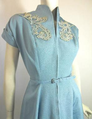 50s dress vintage dress NatLynn
