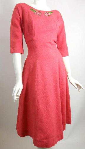 Dorothea's Closet Vintage dress, 60s dress, pink dress