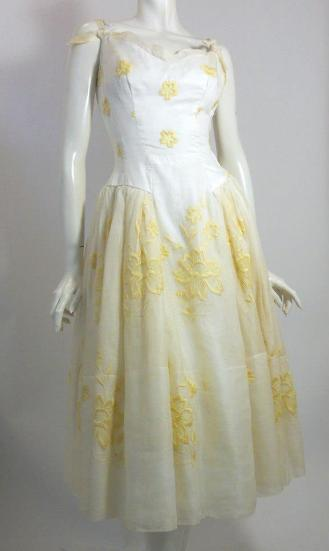 Dorothea's Closet Vintage dress, 60s dress, organza dress