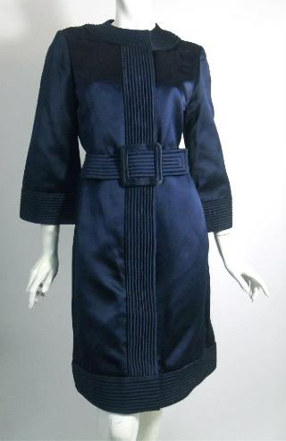 donald brooks dress 60s dress vintage dress