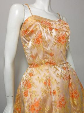 60s gown vintage clothing