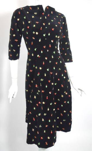1960s dress vintage dress