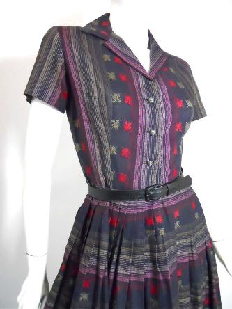 60s dres 1960s dress shirtwaist dress
