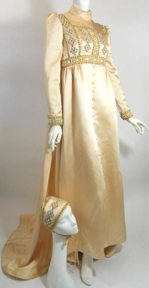 60s gown vintage gown 60s wedding gown