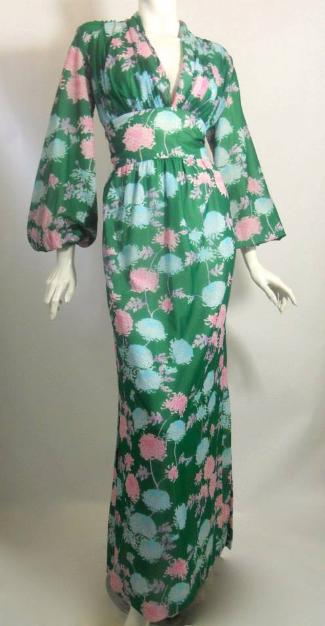 Dorothea's Closet Vintage dress, 70s dress, Robert David Morton
