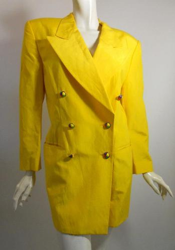 80s jacket 80s clothing vintage Escada