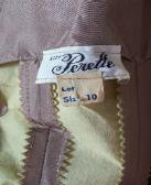 vintage designer dress SUZY PERETTE Label