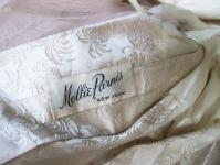 MOLLIE PARNIS vintage designer dress label