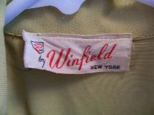 40s Vintage Dress WINFIELD Label