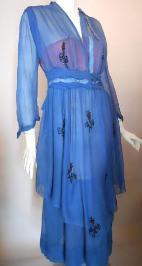 edwardian dress beaded dress