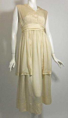 edwardian wedding dress 20s wedding dress vintage dress