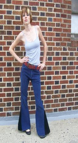 70s bell bottom jeans vintage Lee jeans