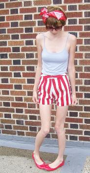 pin up shorts