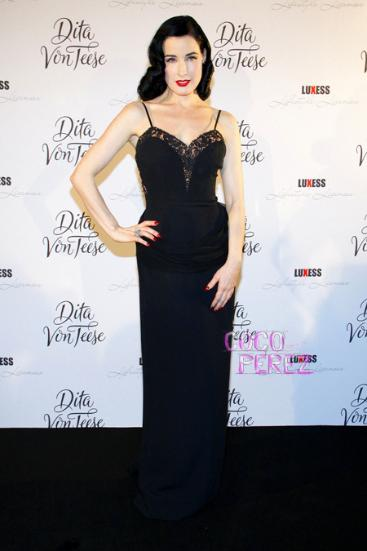 dita von teese howard greer gown